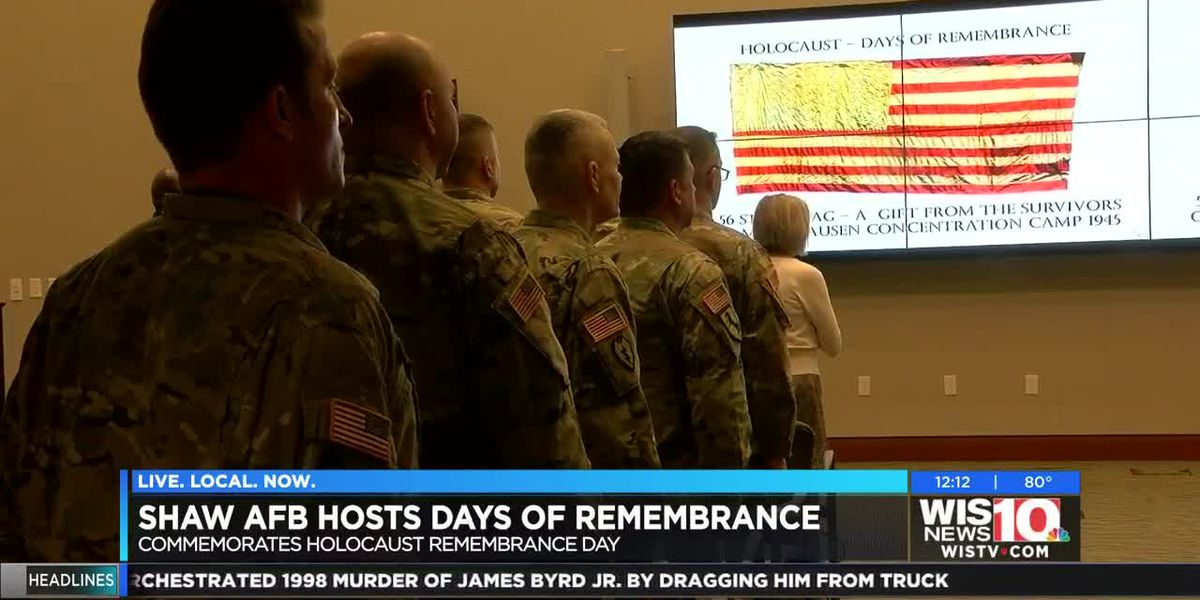 Shaw AFB hosts a day of remembrance
