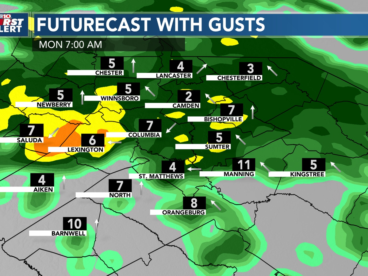 First Alert Forecast: Quiet for the weekend - Unsettled next week