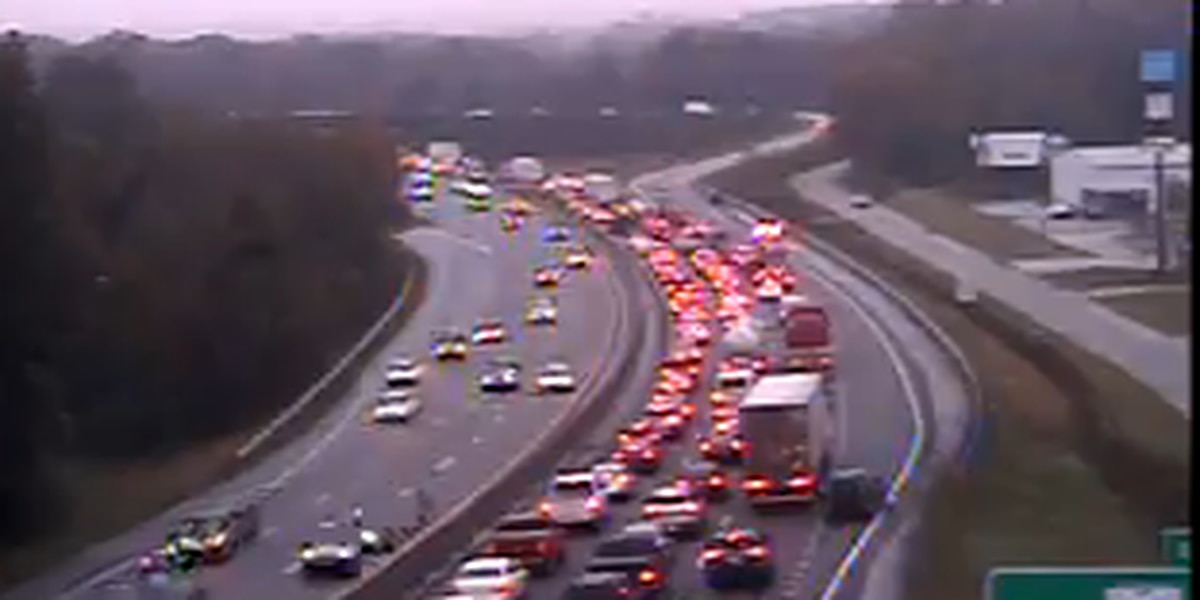 Collisions on I-20WB near Monticello Road causes delays