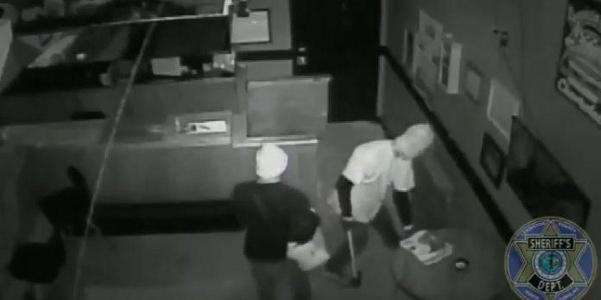 Three men caught on surveillance stealing TVs, alcohol from Lexington Co. bar