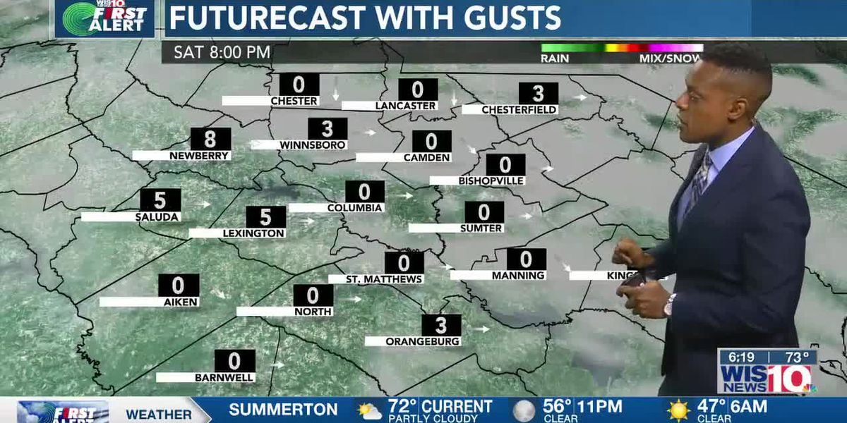 Dominic Brown's May 7th Forecast