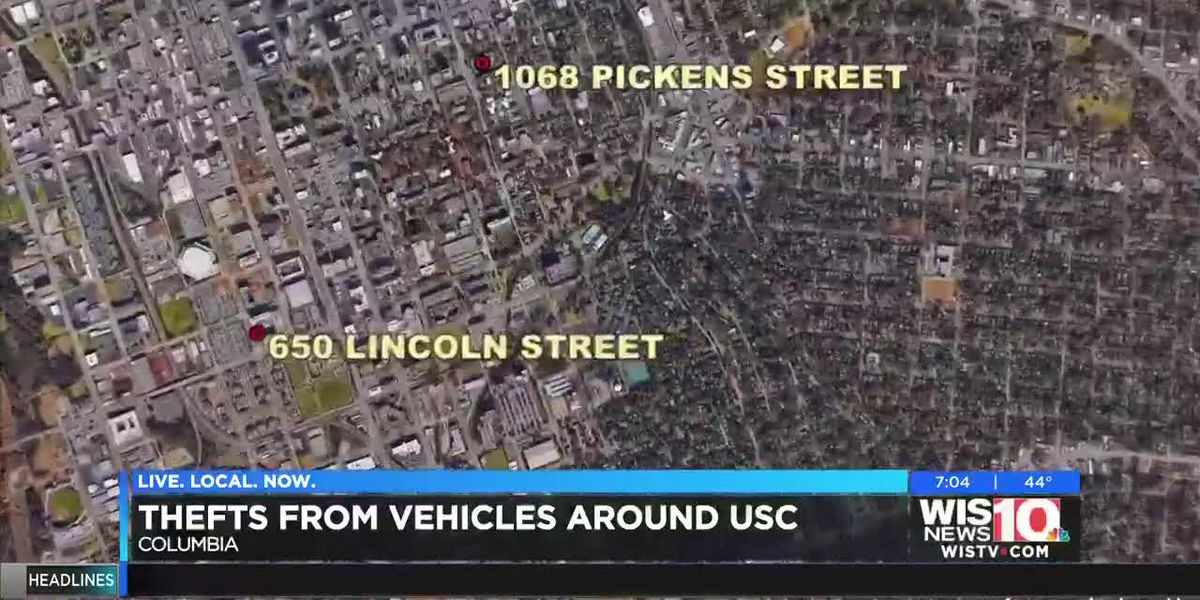 USCPD investigating vehicle break-ins around campus