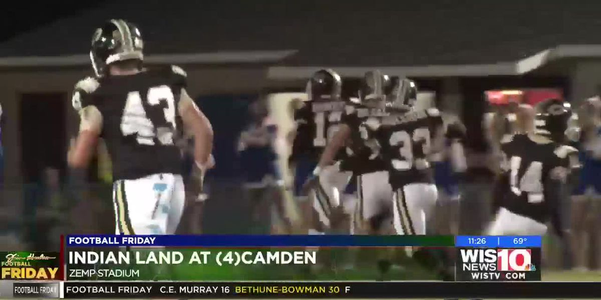 PLAY 3: Camden blocks the field goal and comes away with a TD