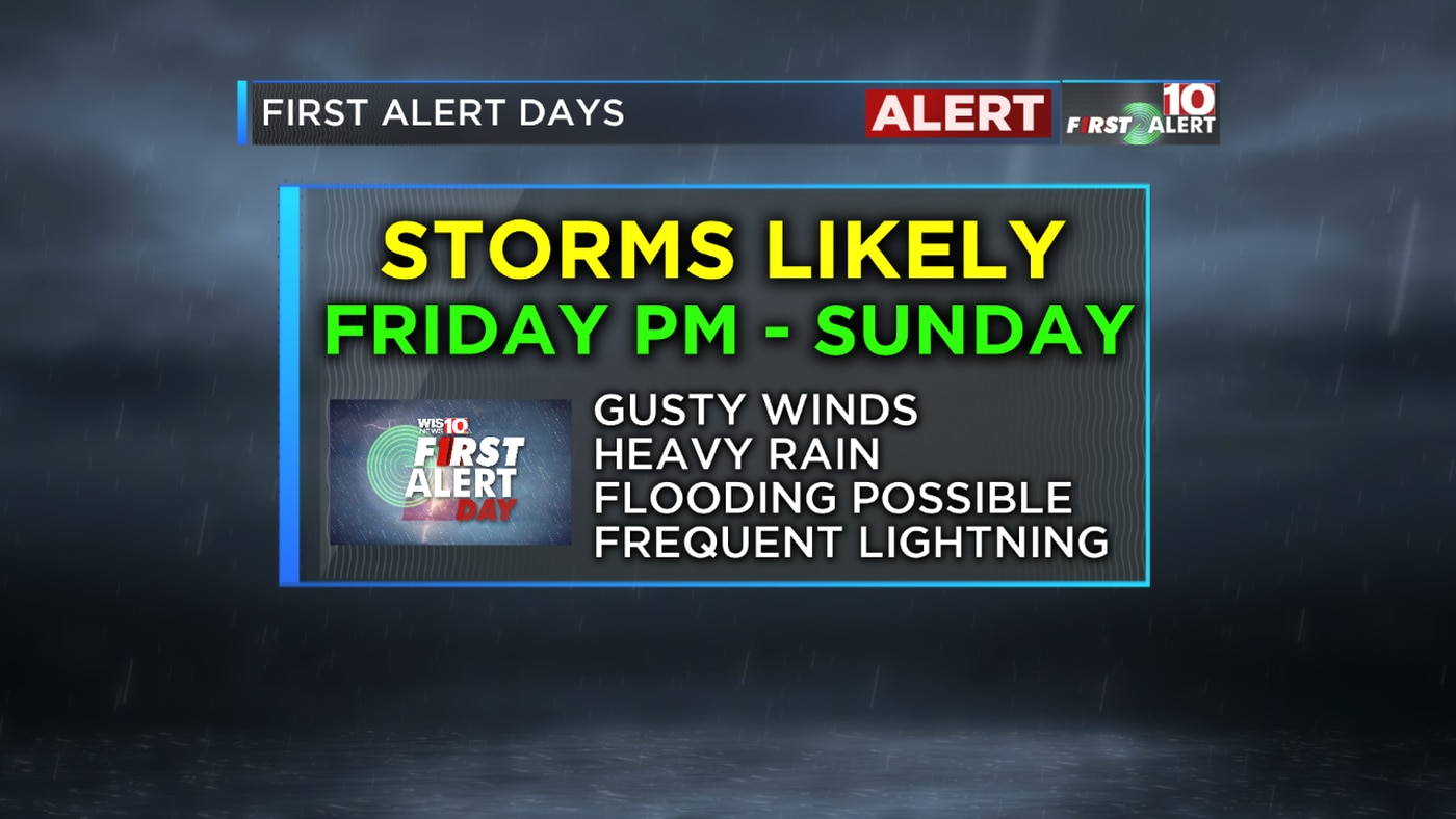 FIRST ALERT: Storms and a Cold Front will Lead to Cooler