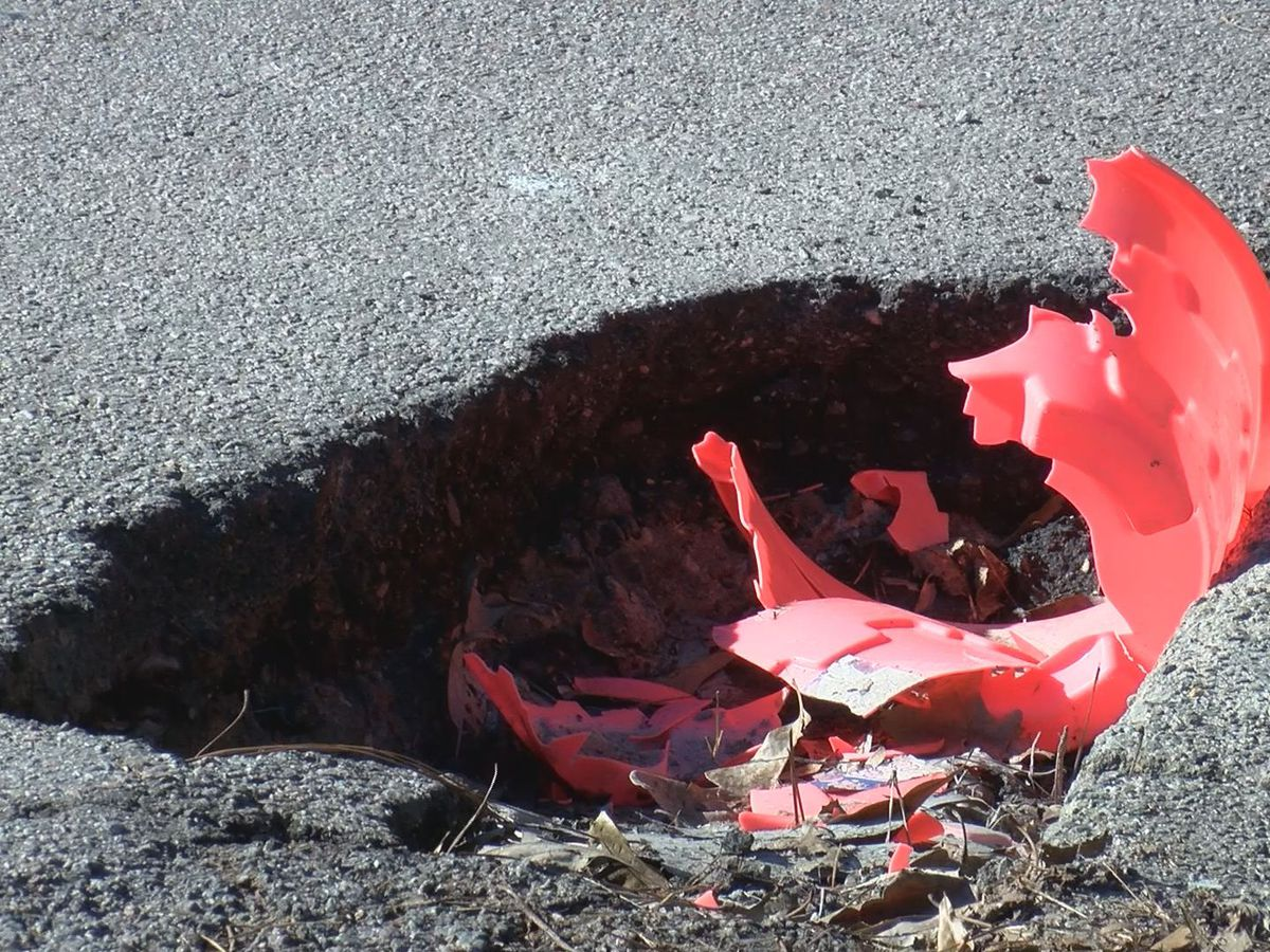 SCDOT launches statewide 'pothole blitz' to repair roadways