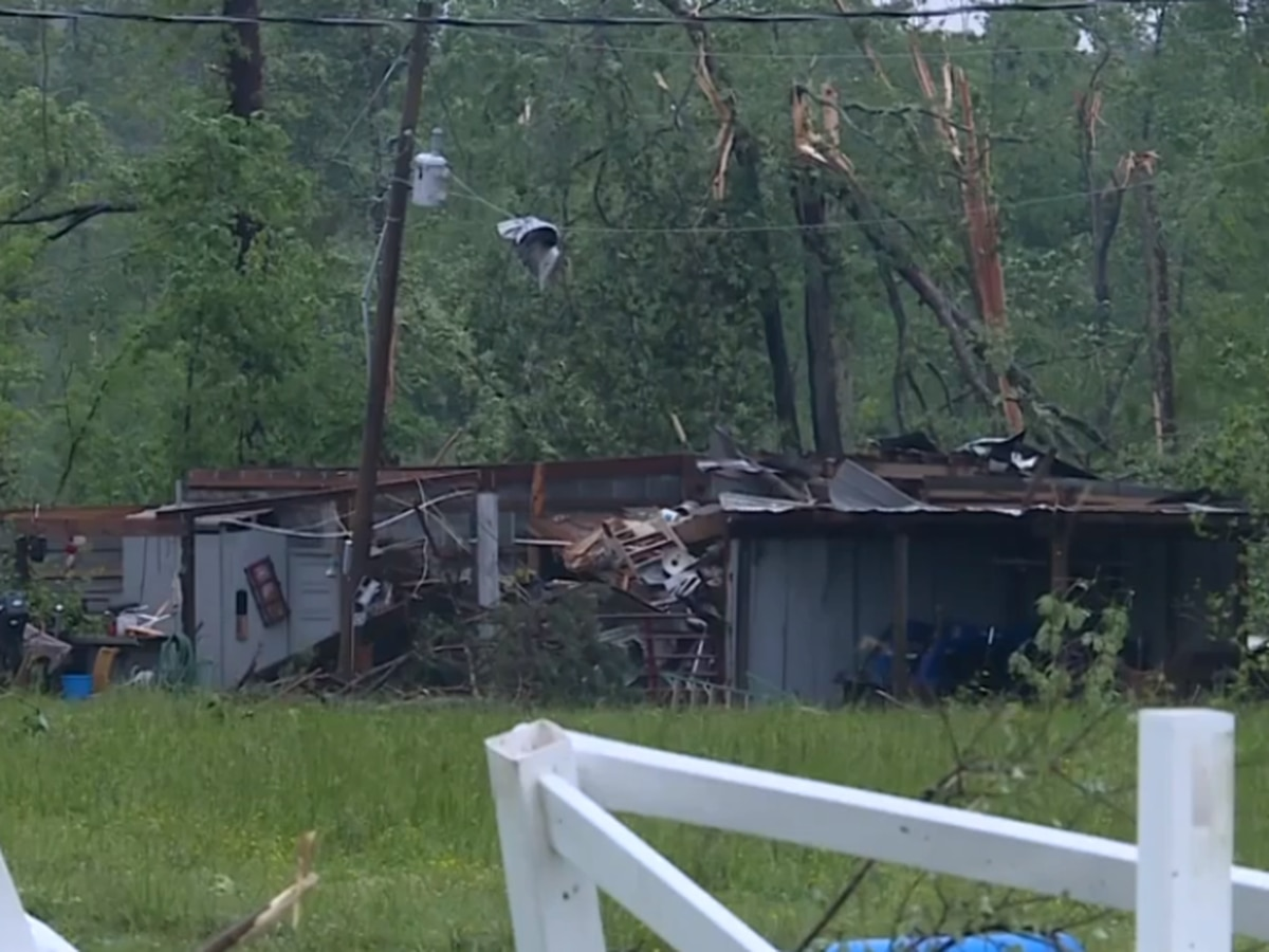 EF2 tornado hit Abbeville and Greenwood counties, NWS says