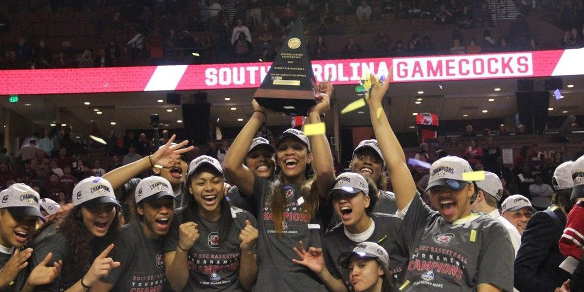 SEC Tournament win boosts Gamecocks in AP poll