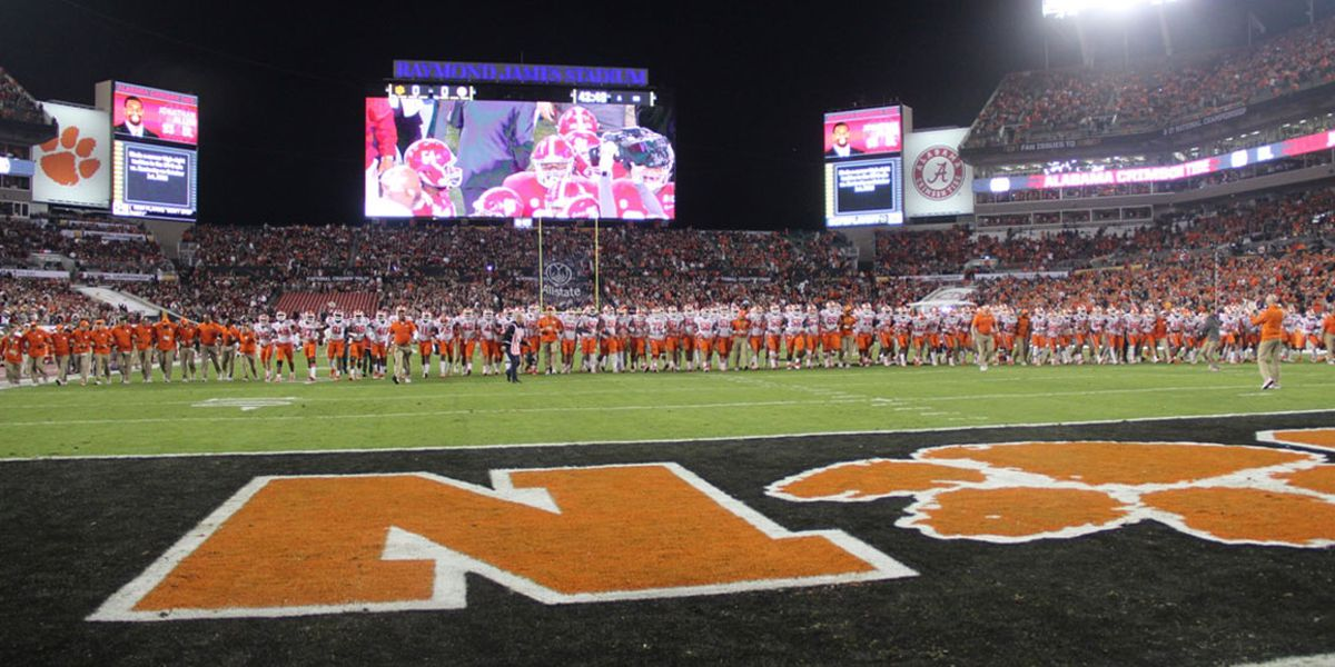 'Ridiculous': Clemson head coach responds to 'Walk of Champions' comments made by Gamecocks commentator