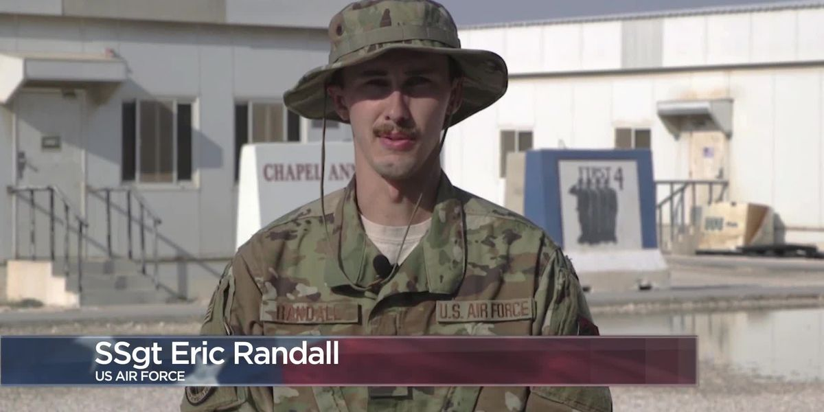 Military Greetings - Staff Sgt. Eric Randall