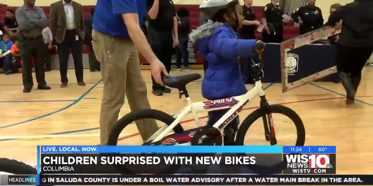 Ex-USC star Samuel partners with Academy, CPD for bike donation