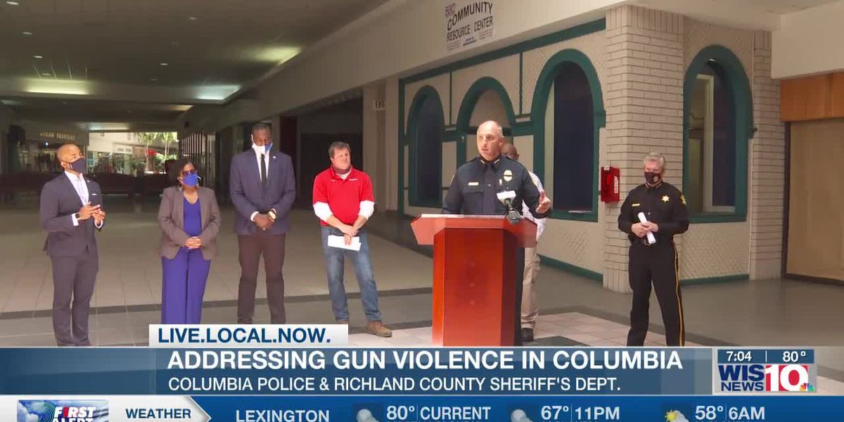 Columbia shooting comes just after gun violence presser, leader looking to gather resources