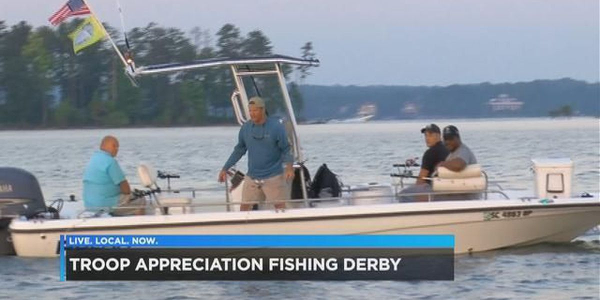 $20K worth of prizes given away to wounded warriors during annual Fishing Derby