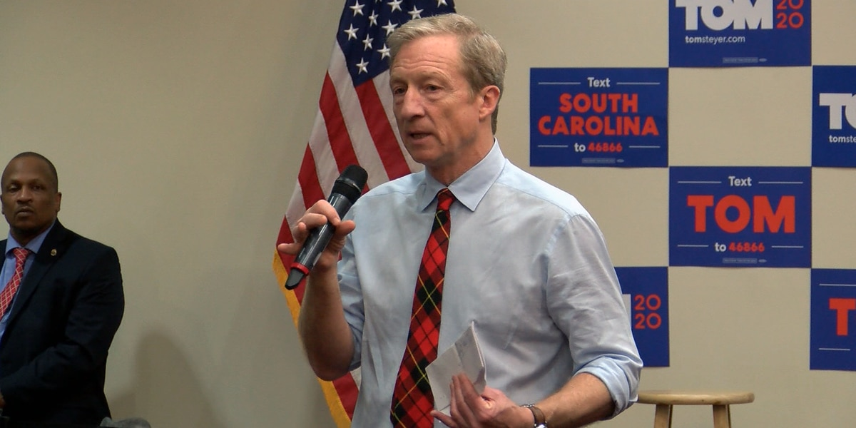 Tom Steyer withdraws from presidential race after third-place finish in S.C. primary