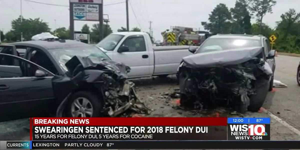 Man accused of felony DUI sentenced to 15 years for 2018 collision