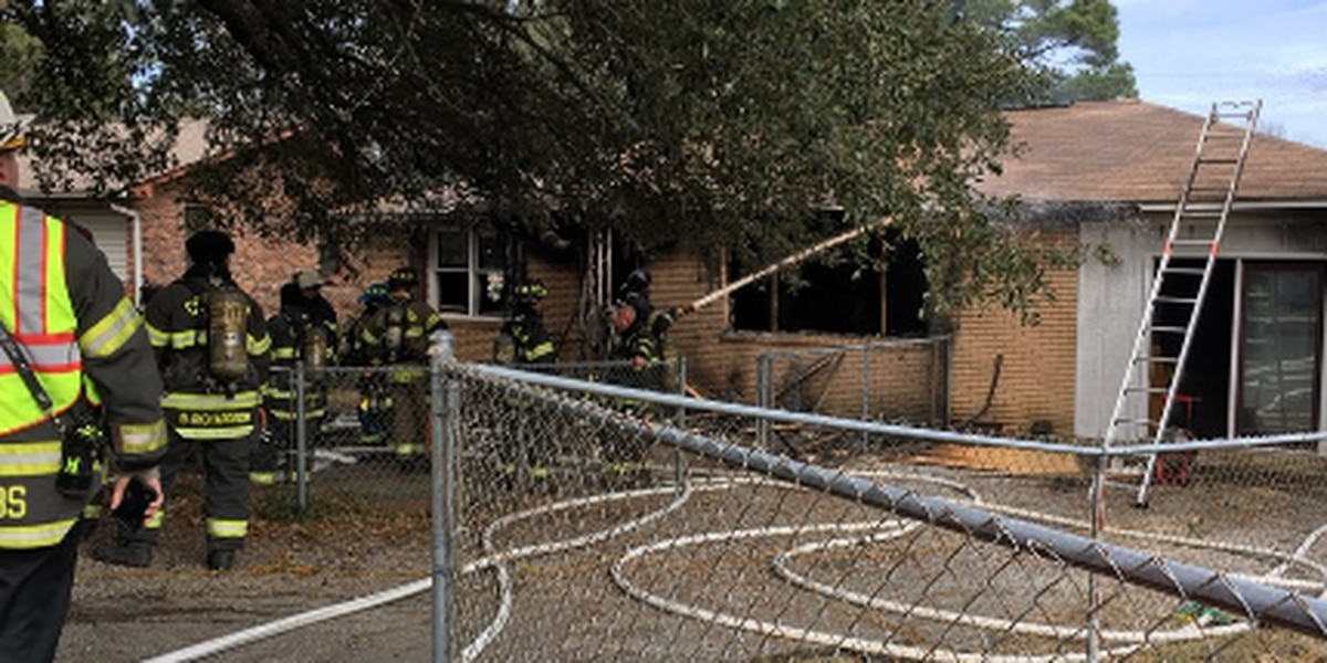 5 people displaced after house fire on Cullasaja Circle