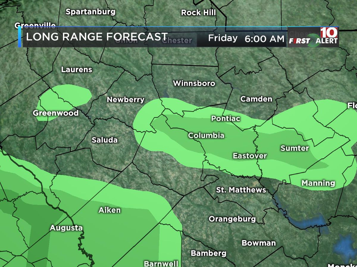 FIRST ALERT: Slow warm-up this week