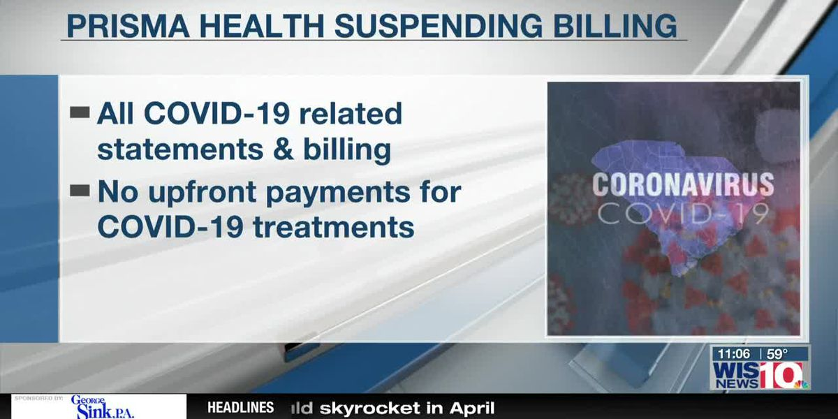 Prisma Health suspends all statements, billing related to COVID-19