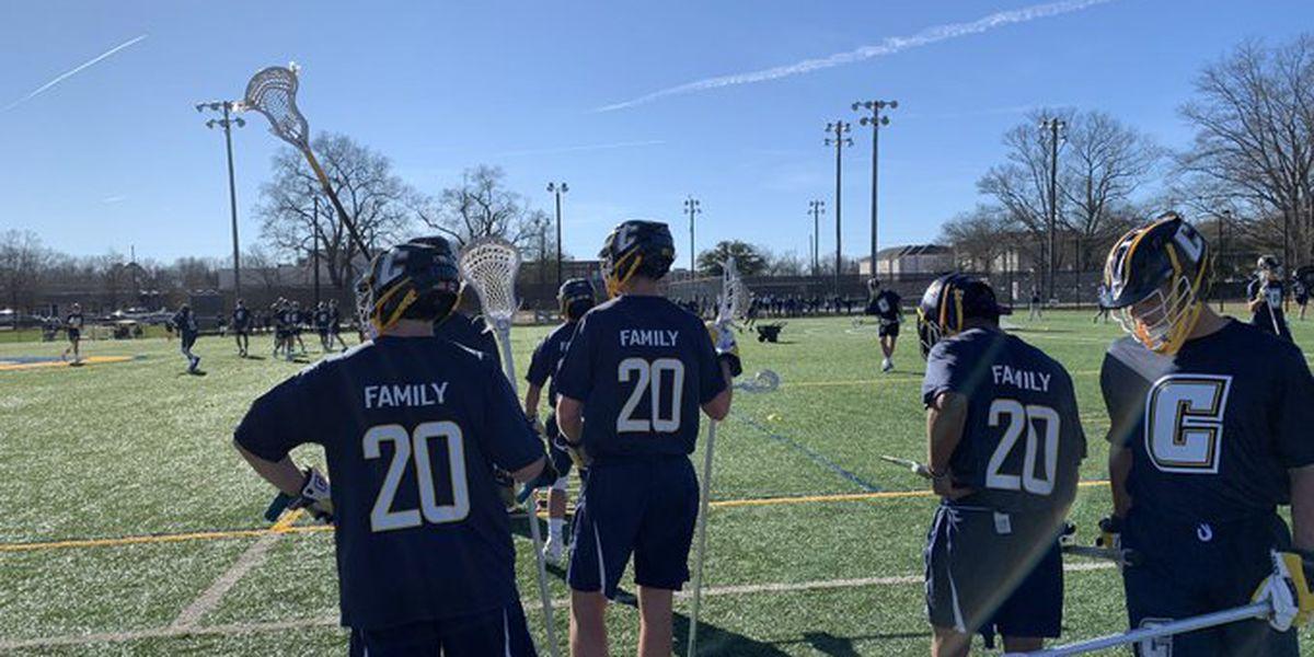 Coker lacrosse honors fallen teammate during season opener