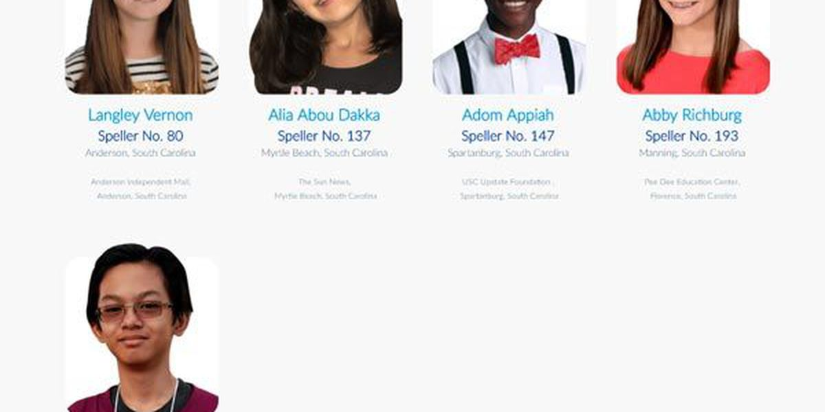 Five SC students gearing up for National Spelling Bee glory
