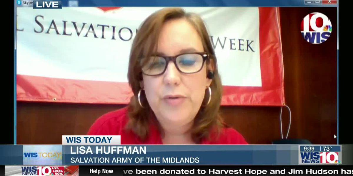 WIS TODAY: Lisa Huffman discusses upcoming events with Salvation Army