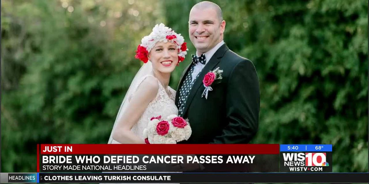 SC wife, 'beautiful queen,' dies of Stage 4 cancer months after defying diagnosis to see wedding
