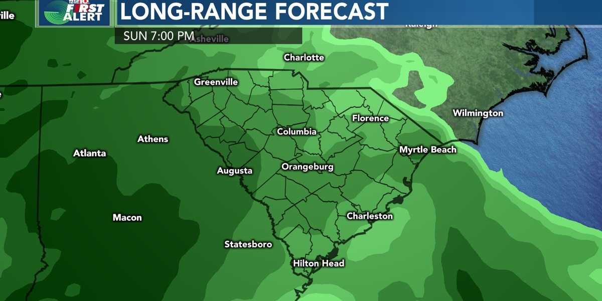 FIRST ALERT: Looking ahead to Sunday and Monday for periods of heavy rain, potential flooding