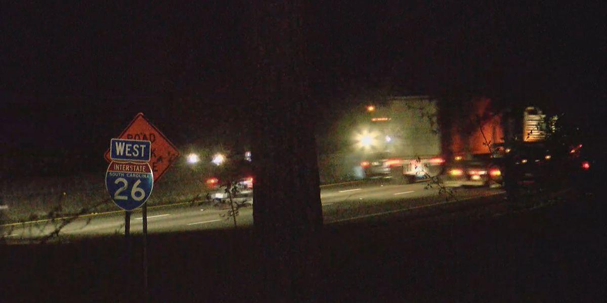 Pedestrian struck, killed on I-26 in Springdale overnight identified