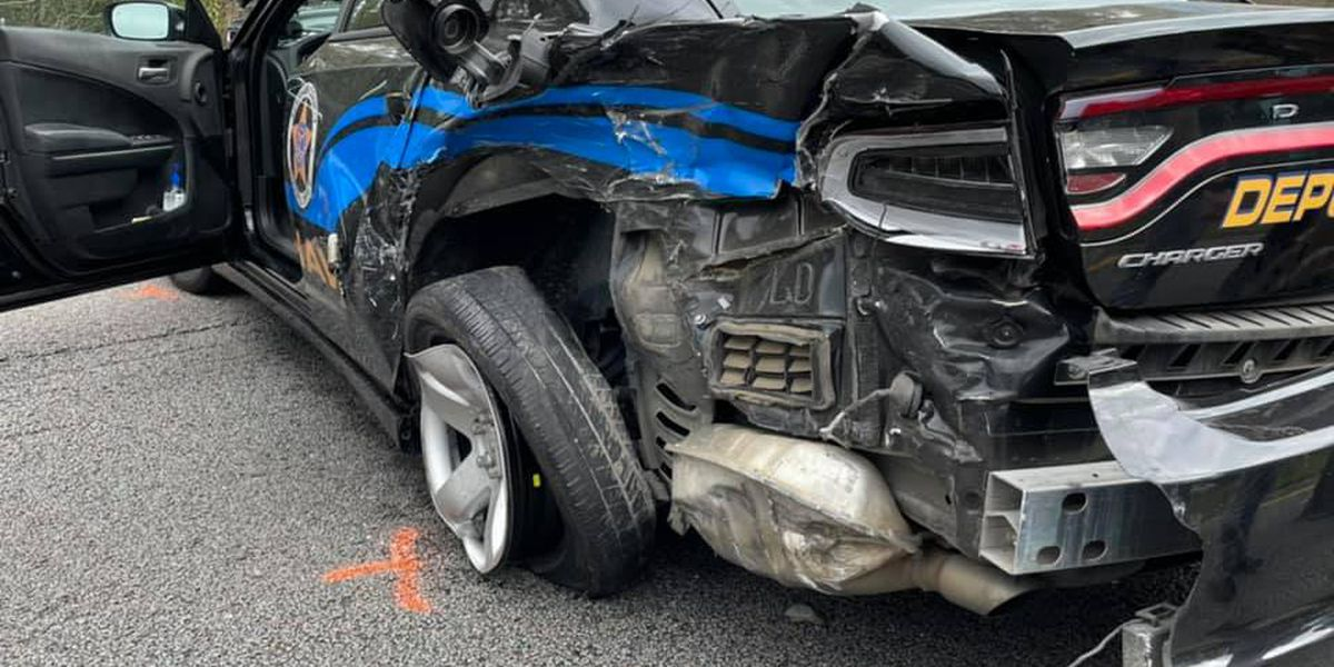 Kershaw Co. deputy injured in crash during chase on I-20 West