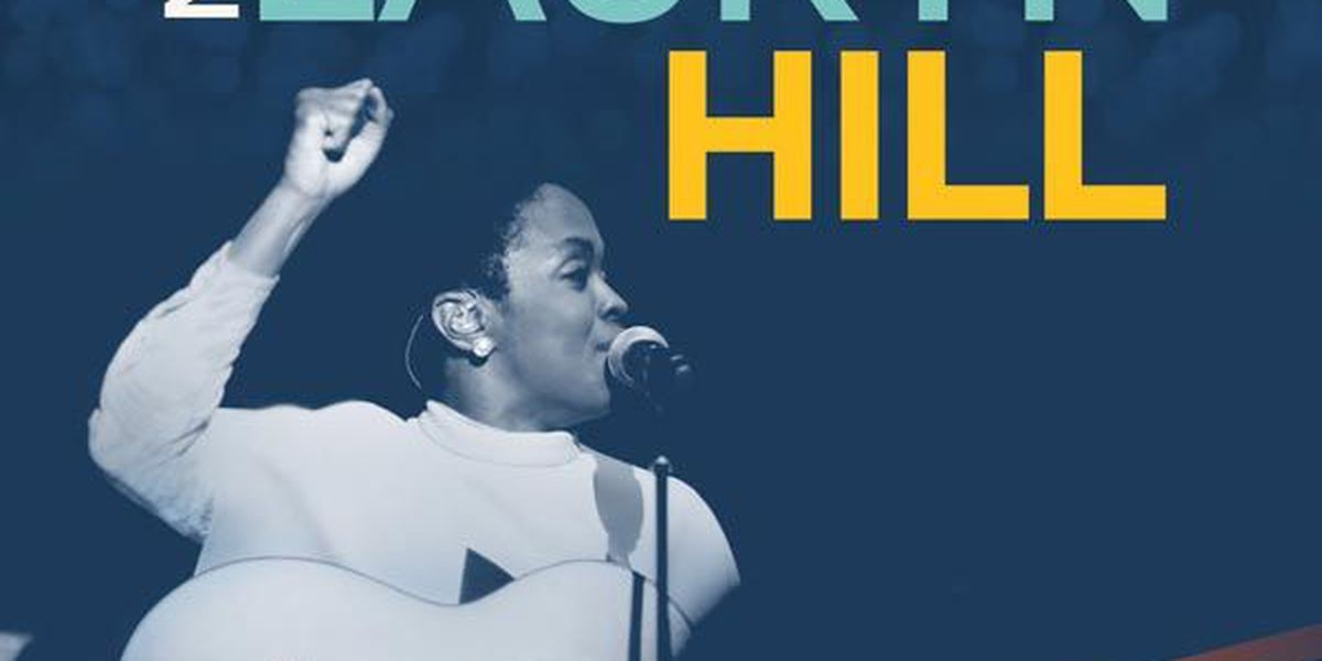 Lauryn Hill will headline the Famously Hot New Year