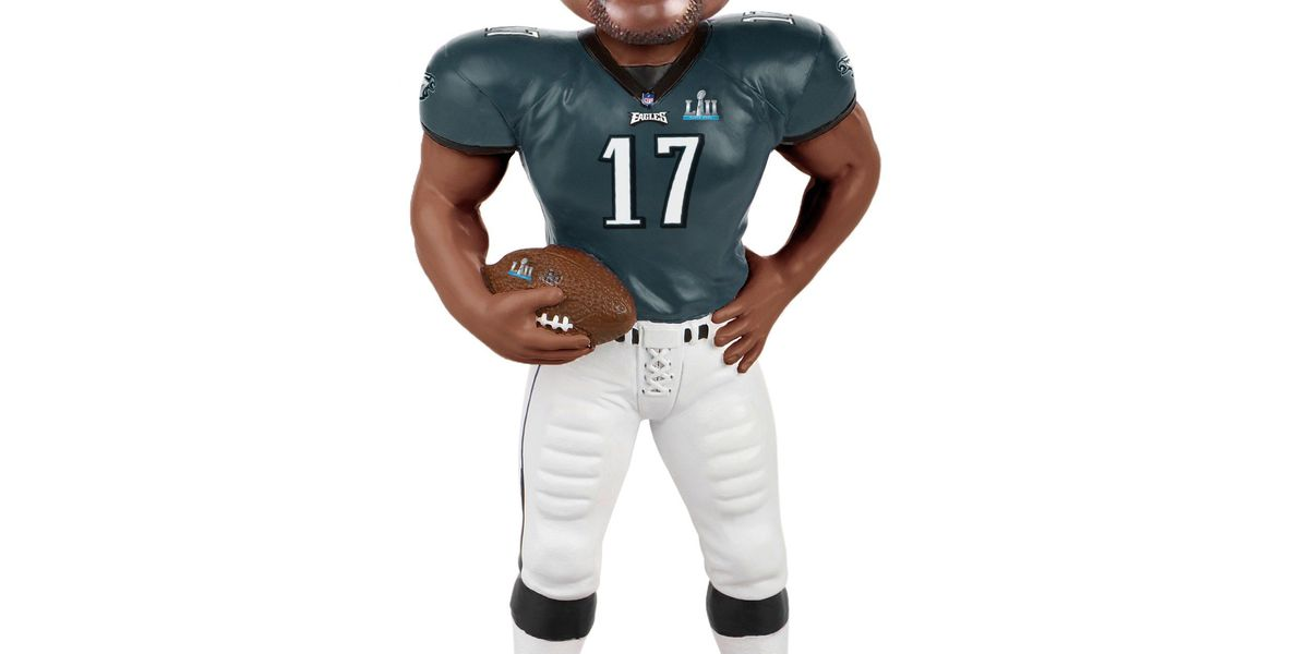 There's an Alshon Jeffery Super Bowl LII Champion bobblehead you can buy? Yes, please!