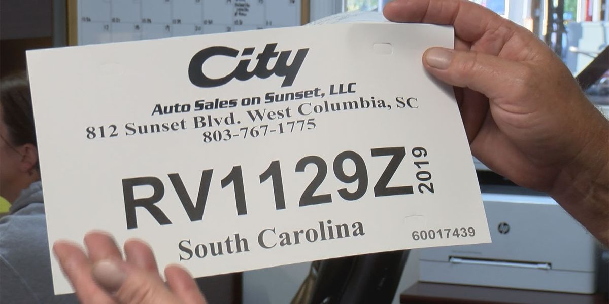 South Carolina continuing to phase in new trackable temporary license plates