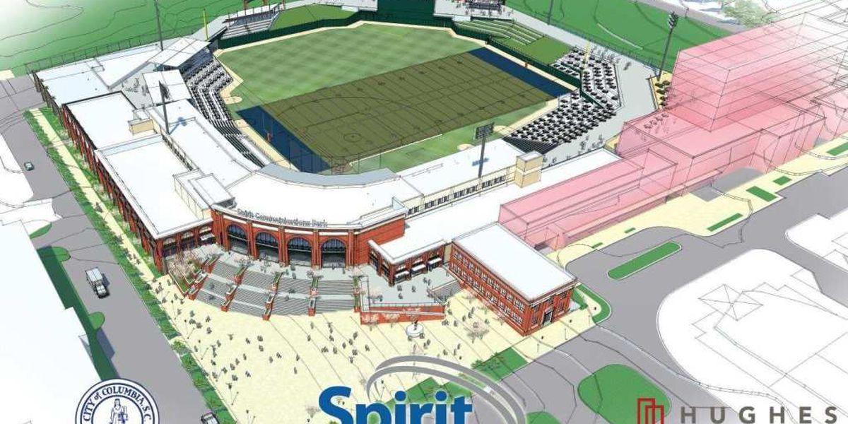 Bull Street ball park to be named `Spirit Communications Park`