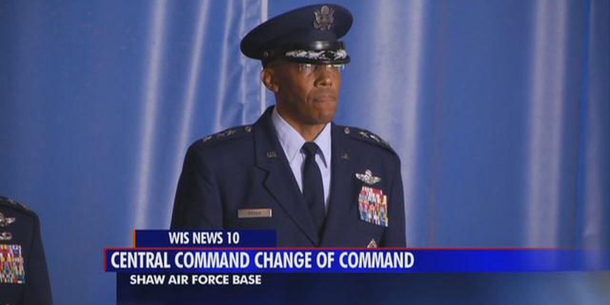 General takes over Air Force Central Command at Shaw AFB