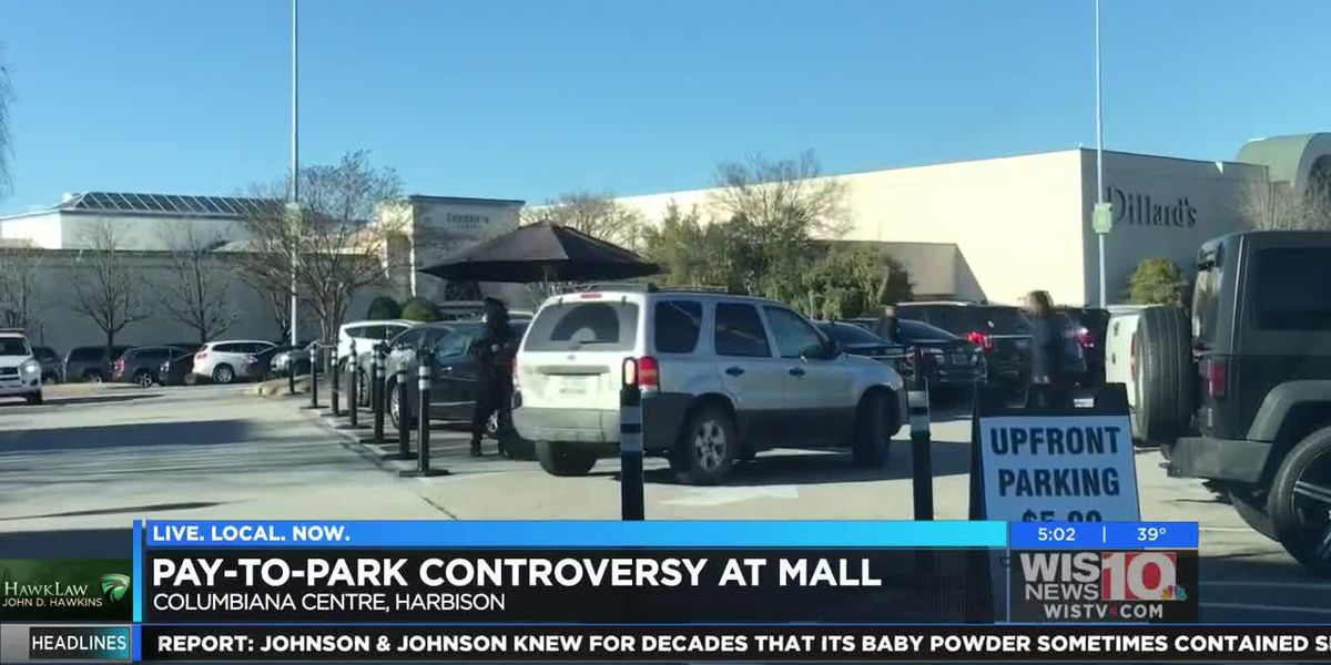 Pay-to-park controversy at the mall