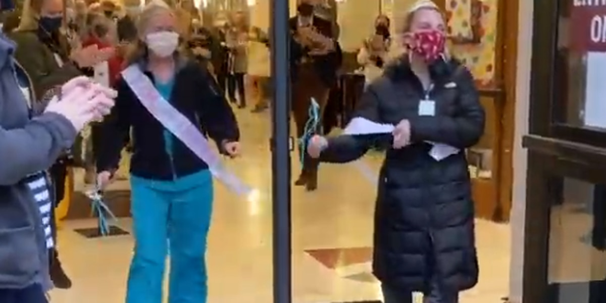 WATCH: Two Lowcountry school nurses get a surprise parade