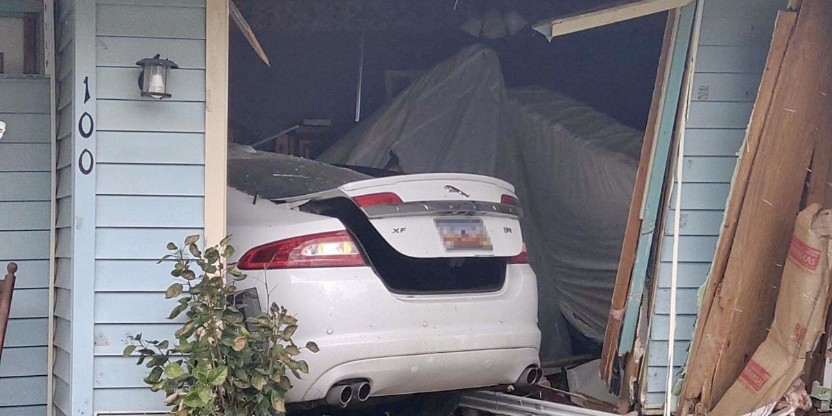 Mother, son injured after car crashes into Summerville home