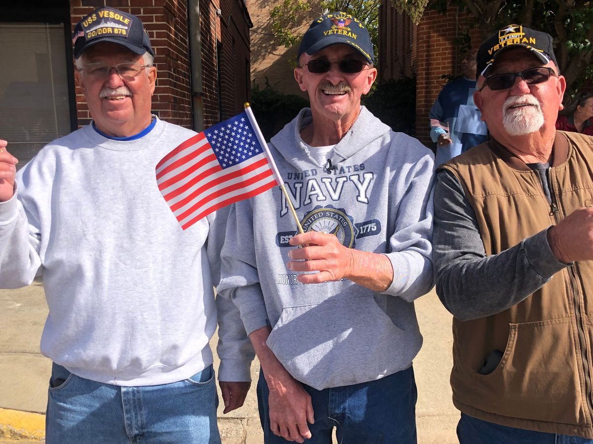 Lugoff family of veterans attend Columbia Veterans Day Parade every year