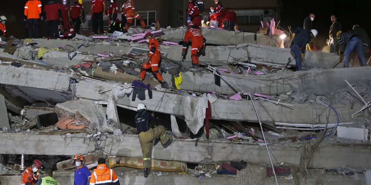 Death toll reaches 26 in quake that hit Turkey, Greek island