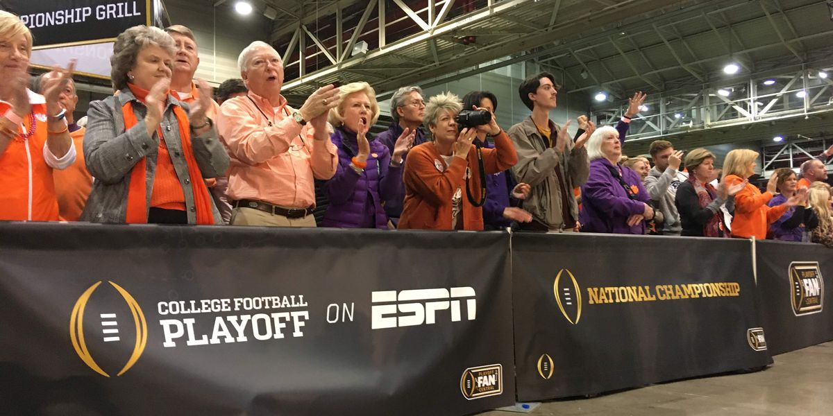 Clemson fans enjoy experience of New Orleans ahead of big game