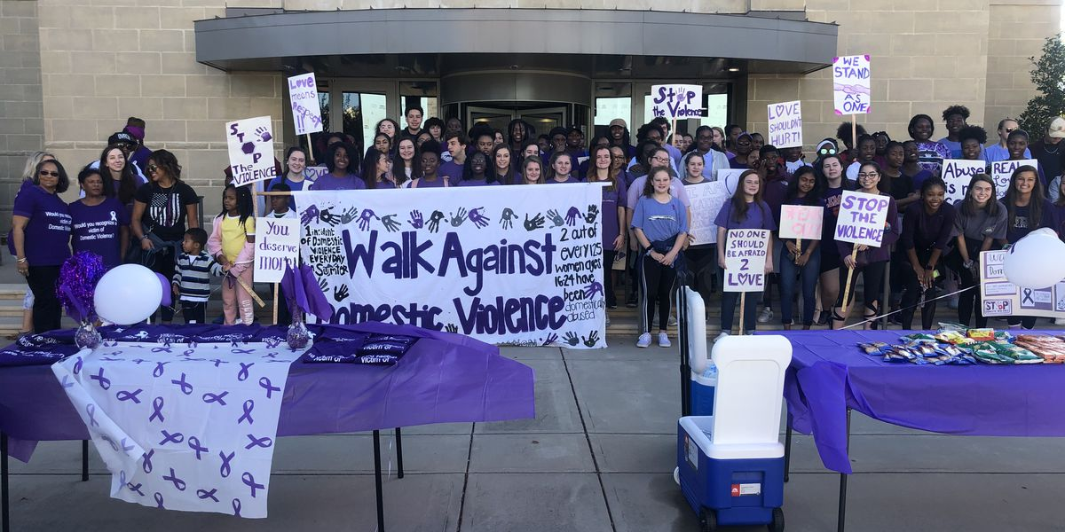 Hundreds attend walk against domestic violence in Sumter