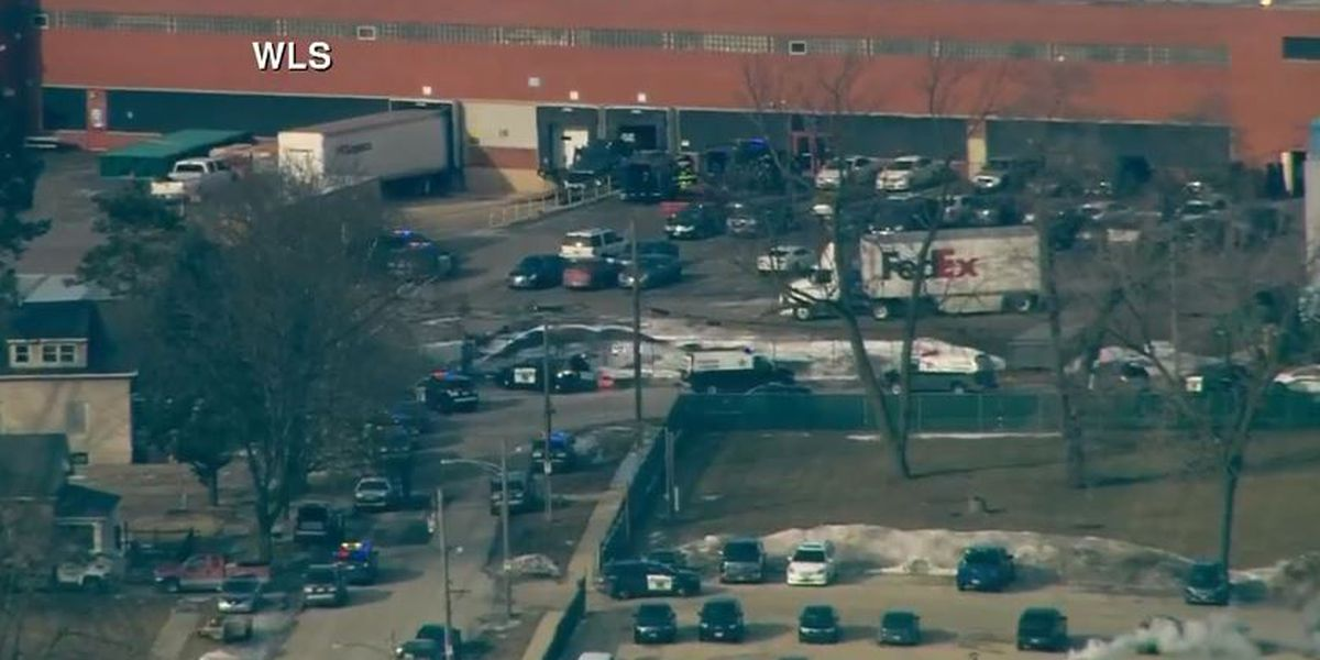 Shooter apprehended after wounding multiple people at suburban Chicago business, at least 1 dead