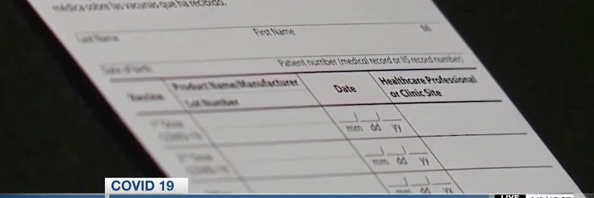 VIDEO: FBI warns against making or buying fake COVID-19 vaccination cards