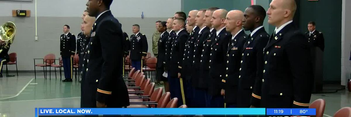 SC National Guard holds graduation, Hall of Fame ceremony