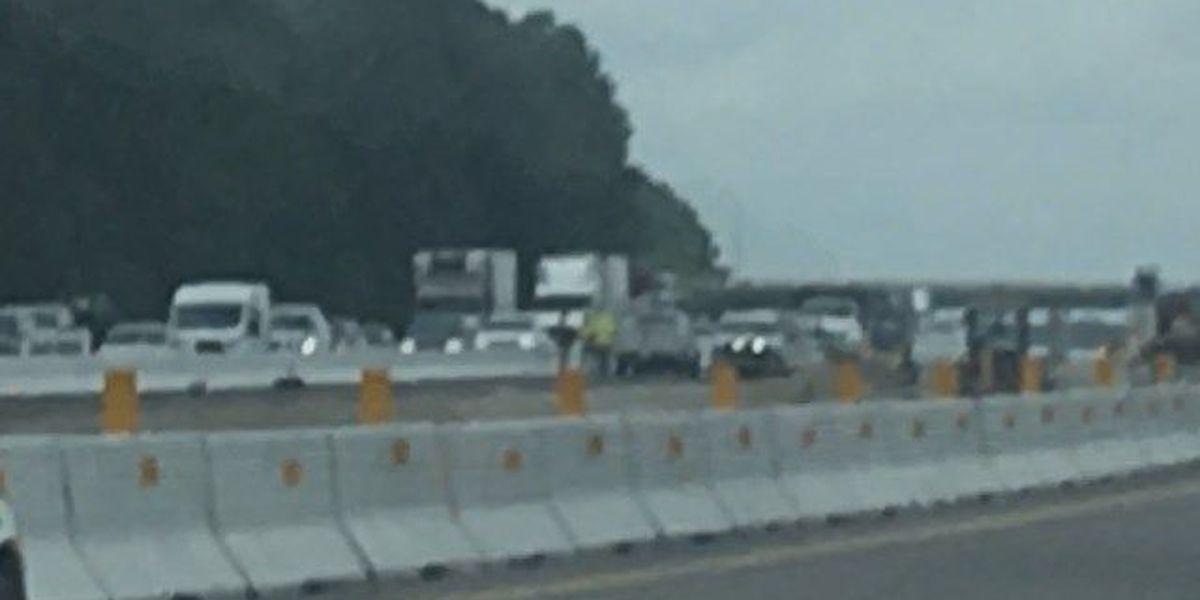 FIRST ALERT TRAFFIC: Traffic backed up on I-77 SB at Killian Rd.
