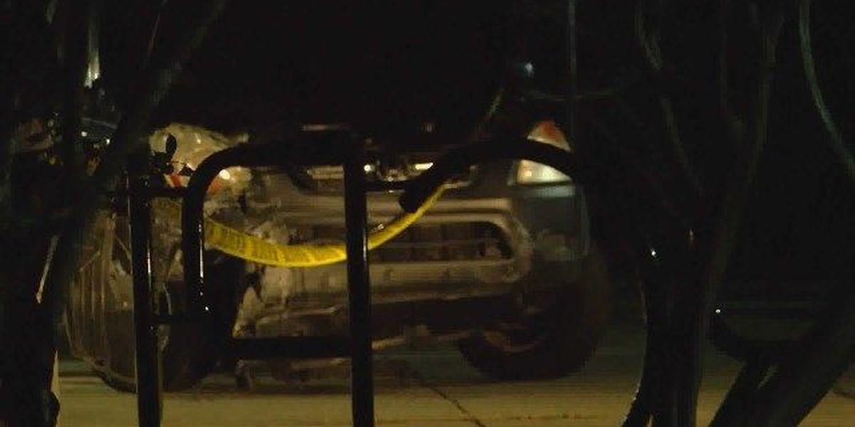 3 hospitalized after elderly driver crashes car into Midlands library