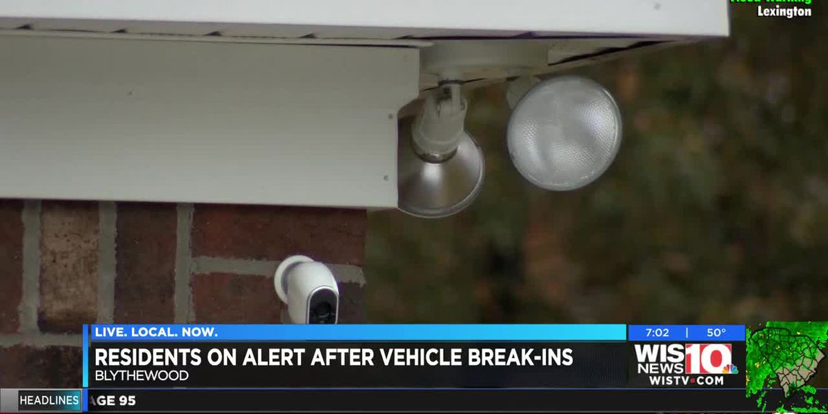 Community groups in Blythewood warning you to lock vehicle doors after break-ins