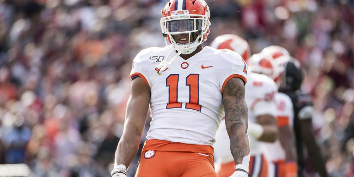 Clemson's Simmons taken in first round of 2020 NFL Draft by Cardinals