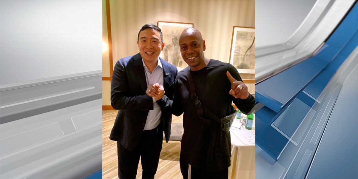 Dave Chappelle Approves Andrew Yang For President