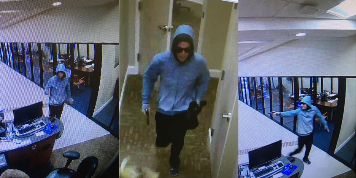 UPDATE: Residents urged to 'be vigilant' as authorities continue search for credit union robbery suspect