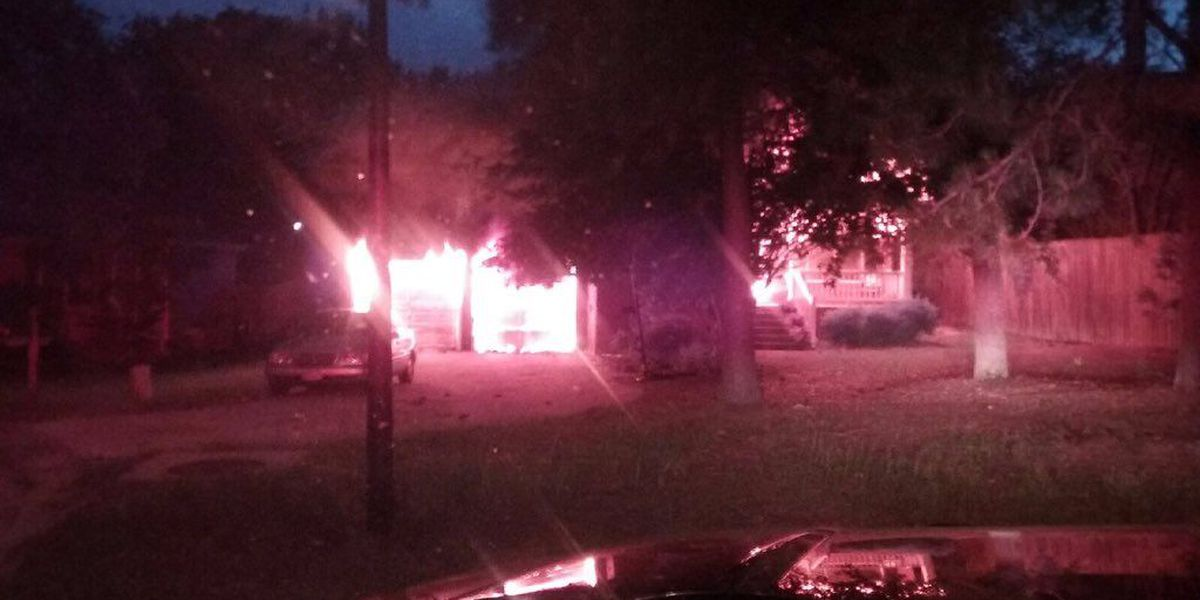 No injuries in Columbia house fire